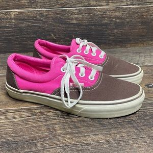 Vans classic skateboard sneakers low top lace up